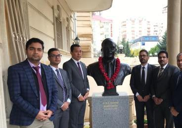 Constitution Day of India is being celebrated at Embassy of India Baku - 26 November 2019
