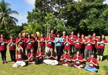 The 3rd International Day of Yoga celebrated in Brunei Darussalam