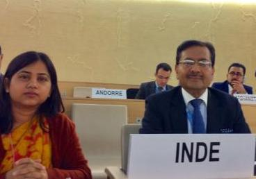 GENEVA: Right of Reply exercised by India in response to the Statement by Pakistan under the Agenda Item 4 at the 34th Session of Human Rights Council