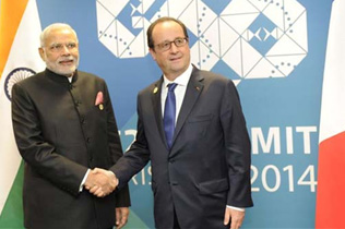 India & France: Spring Time