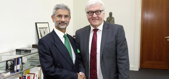 Foreign Secretary calls on Foreign Minister of Germany, Dr. Frank-Walter Steinmeier in Berlin
