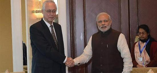 Prime Minister meeting with Emeritus Senior Minister Goh Chok Tong of Singapore