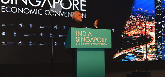 ''We regard Singapore as an essential ally in the implementation of our Look and Act East Policy- Prime Minister''