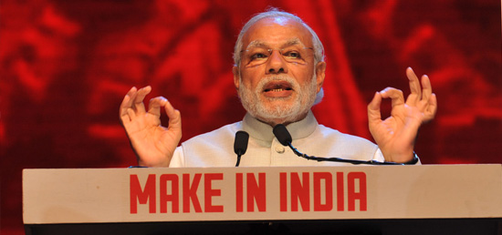''In a year's time, Make in India has become the biggest brand that India has ever created. Both within and outside the country, it has captured the imagination of people, institutions, industries, media and the political leadership.'' - Prime Minister