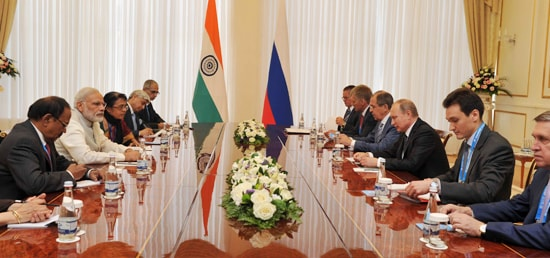 Prime Minister holds delegation level talks with Vladimir Putin, President of Russia in Tashkent
