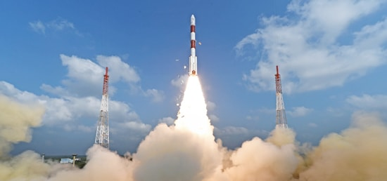 ISRO launched a world record 104 satellites on PSLV C37 rocket from the Sriharikota spaceport in Andhra Pradesh today