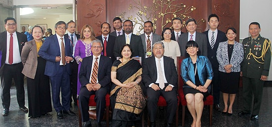 Group Photo of 12th India-Philippines Policy Consultations and 3rd Strategic Dialogue with Philippines in New Delhi