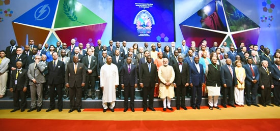 Group photograph of Annual Meeting of the African Development Bank in Gandhinagar, Gujarat