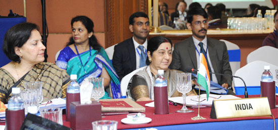 External Affairs Minister attends Working Session of the 15th BIMSTEC Ministerial Meeting in Kathmandu