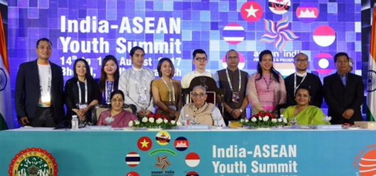 External Affairs Minister attends India ASEAN Youth Summit in Bhopal