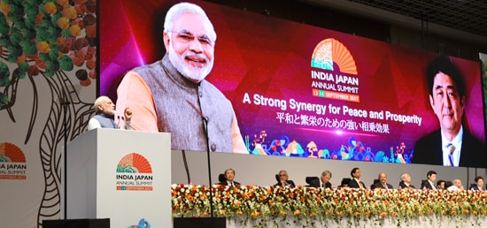 ''The growing convergence between India and Japan on strategic and economic issues has the capacity to stimulate the global economy'' – Prime Minister