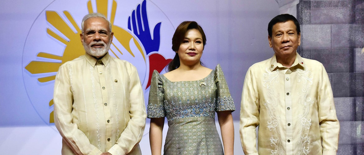 Prime Minister arrives at Community event in Manila, Philippines