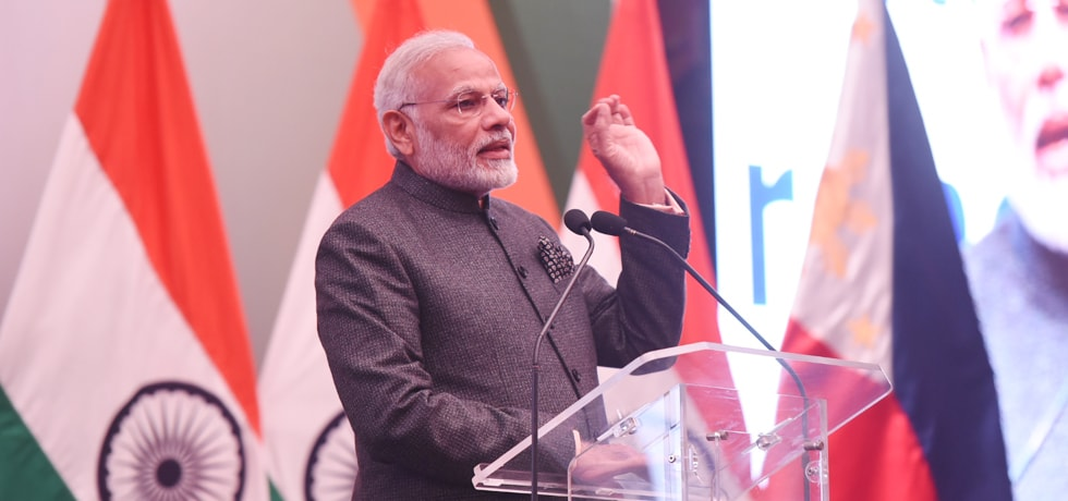 Prime Minister speaks at Indian Community Reception in Manila