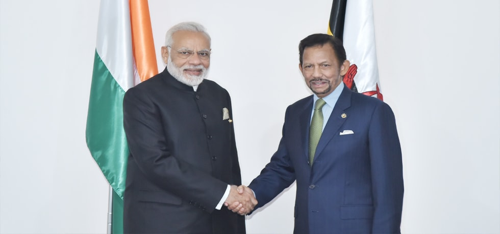 Prime Minister meets Hassanal Bolkiah, Sultan of Brunei Darussalam in Manila