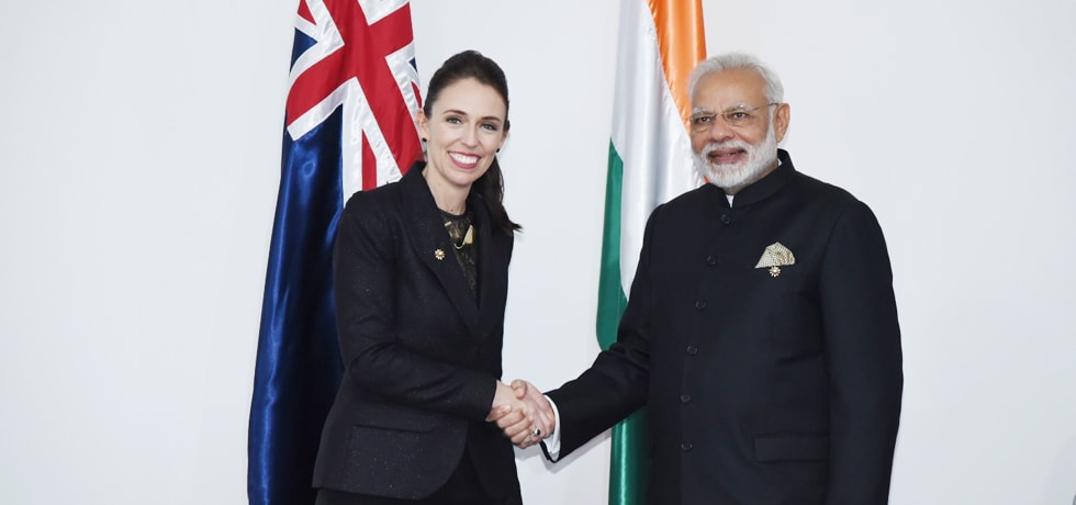 Prime Minister meets Jacinda Ardern, Prime Minister of New Zealand in Manila