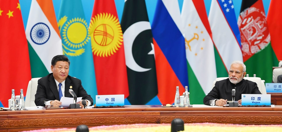 Prime Minister at the Plenary Session of SCO Summit 2018