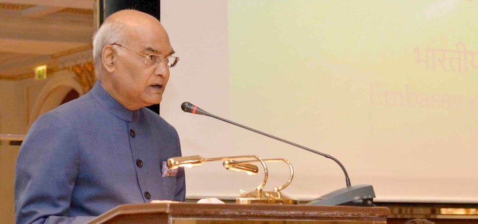 President addresses Indian Community during his visit to Greece