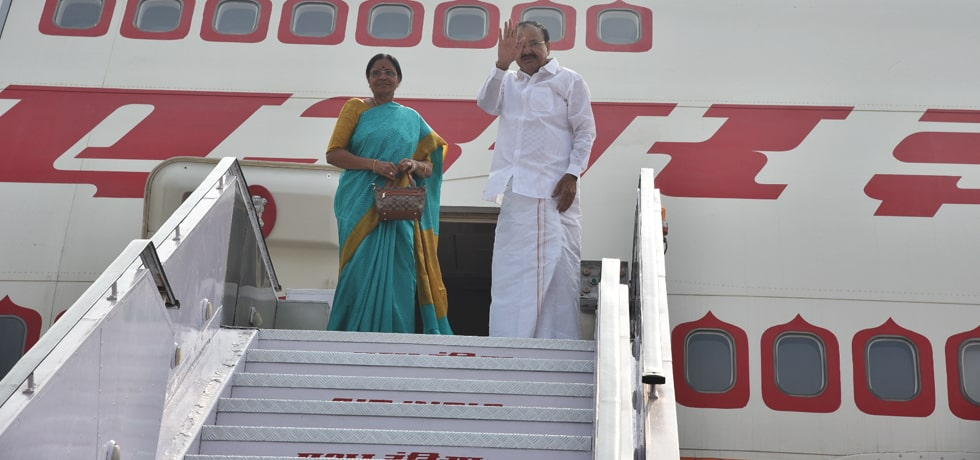 Vice President departs for Paris on his 3-day visit to France