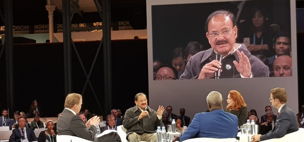 Vice President participates in panel discussion on ''Dialogue of the Continents on Global Governance'' at Paris Peace Forum