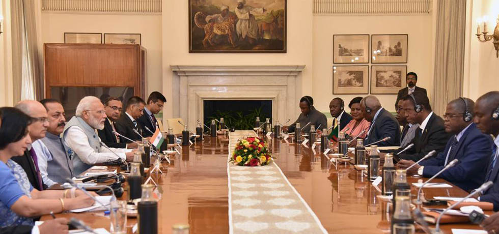 Delegation level talks led by Prime Minister and President Edgar Chagwa Lungu of Zambia