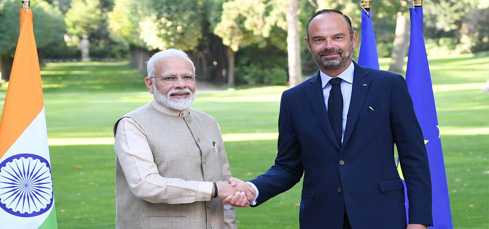 Prime Minister meets Edouard Philippe, Prime Minister of France in Paris