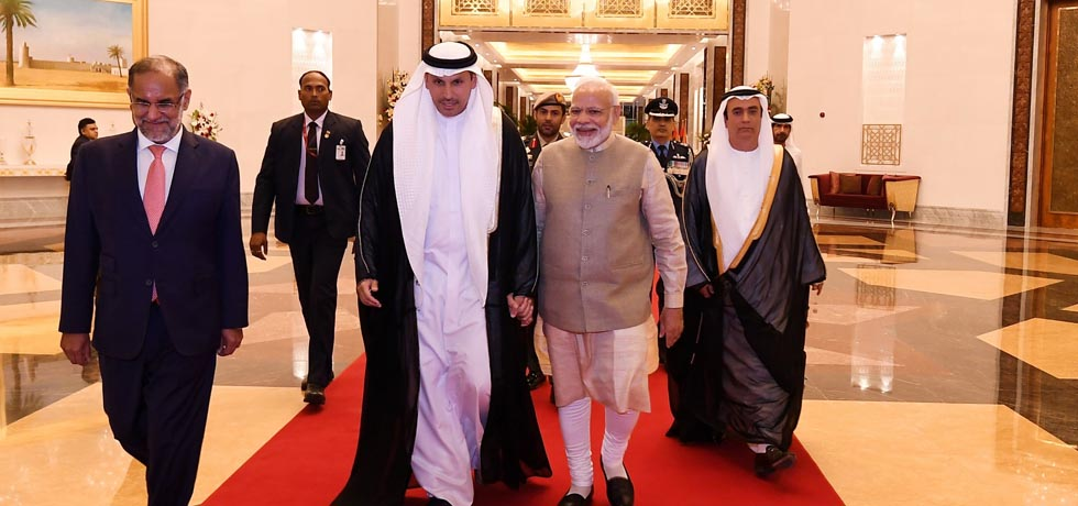 Prime Minister arrives in Abu Dhabi on the second leg of his 3-Nation Visit to France, UAE and Bahrain