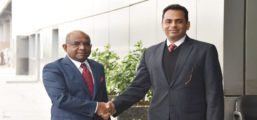 Abdulla Shahid, Minister of Foreign Affairs of Maldives arrives in New Delhi
