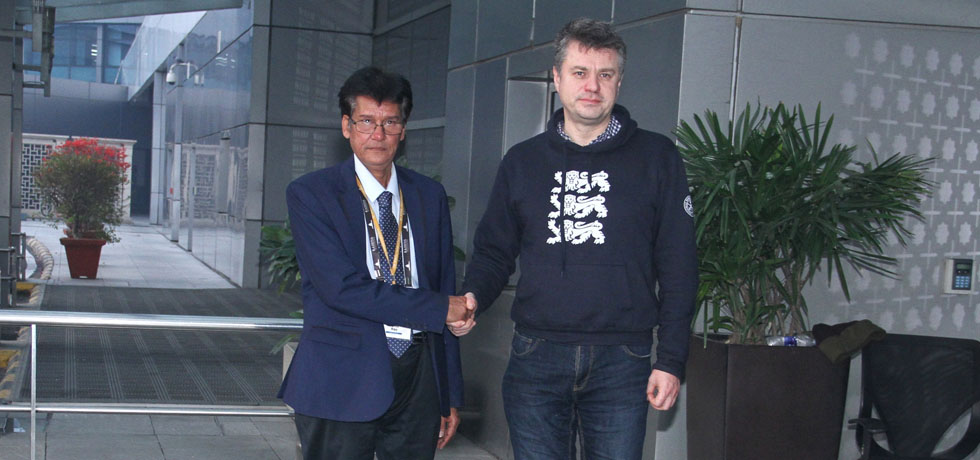 Urmas Reinsalu, Minister of Foreign Affairs of Estonia arrives in New Delhi