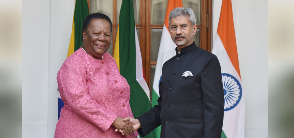 External Affairs Minister meets GNM Pandor, Minister of International Relations and Cooperation of South Africa during Raisina Dialogue 2020