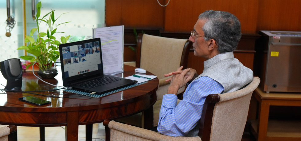 Secretary (ER) delivered an address at the webinar on ''Making Africa Resilient for Indian Business'' organised by FICCI