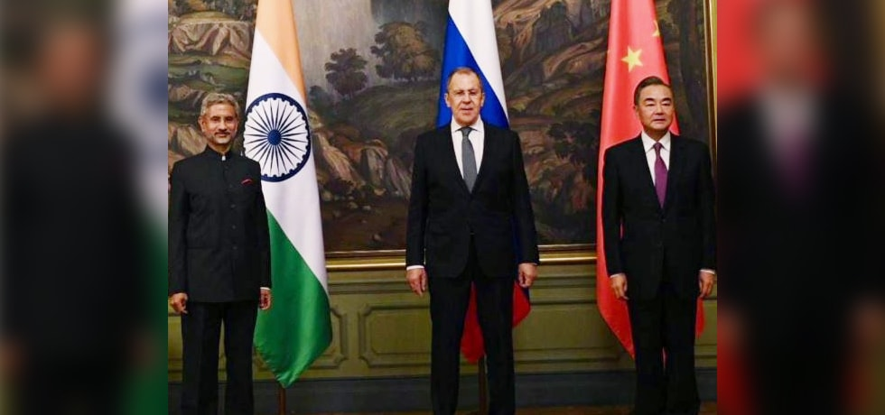 External Affairs Minister at the RIC Foreign Ministers Meeting in Moscow