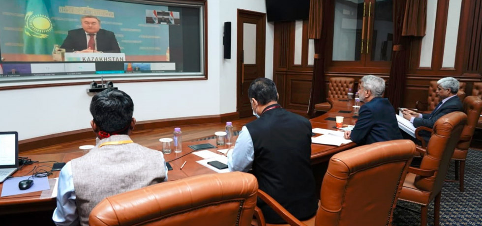 External Affairs Minister at the 2nd meeting of the India-Central Asia Dialogue