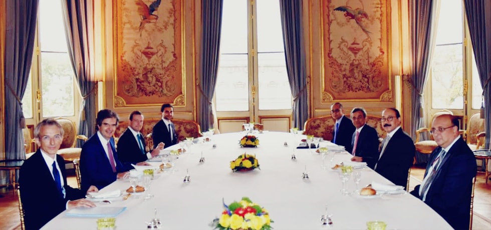 Foreign Secretary meets Francois Delattre, Secretary General in the French Foreign Ministry, in Paris