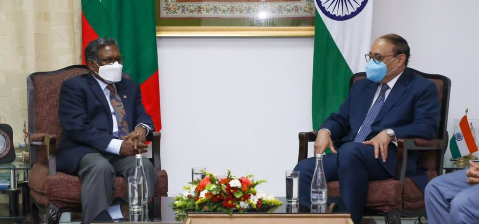 Foreign Secretary meets the leadership of opposition 'Progressive-Congress Coalition' in Malé