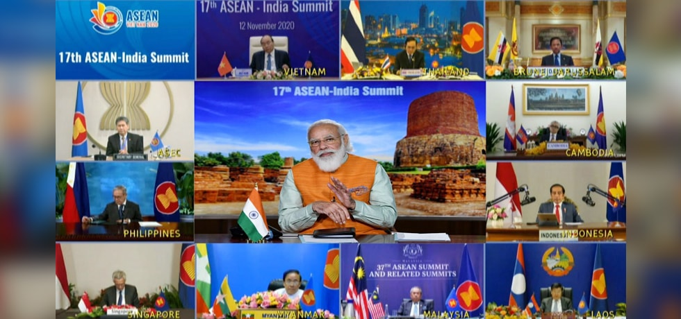 Prime Minister at the 17th India-ASEAN Virtual Summit