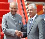 Visit of President to Mauritius (March 11-14, 2018)