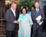 Visit of Foreign Minister of France to India