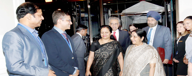 Visit of External Affairs Minister to USA for 72nd Session of UN General Assembly (September 18-24, 2017)