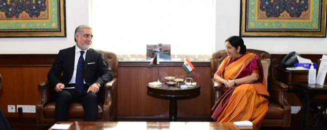 Visit of Chief Executive of Afghanistan to India (September 27-29, 2017)