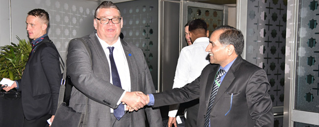 Visit of Minister of Foreign Affairs of Finland to India (November 22-25, 2017)