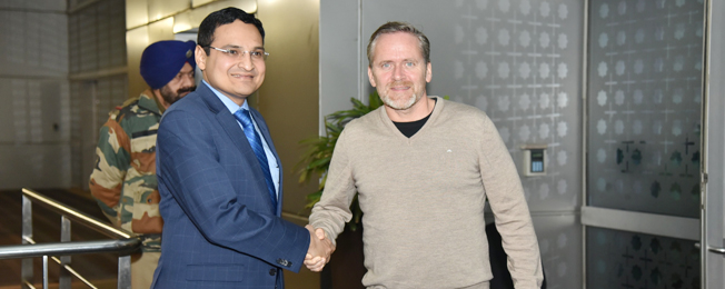 Visit of Minister of Foreign Affairs of the Kingdom of Denmark to India (November 26-30, 2017)