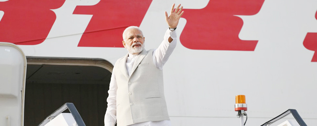 Visit of Prime Minister to Russia (May 21, 2018)