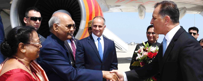 State Visit of President to Cyprus, Bulgaria and Czech Republic (September 02-09, 2018)