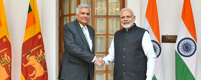Official Visit of Prime Minister of Sri Lanka to India (October 18–20, 2018)