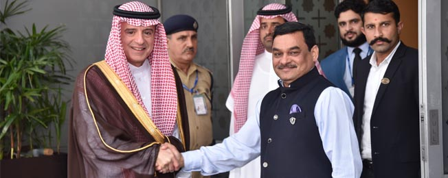 Visit of Minister of State for Foreign Affairs of Saudi Arabia to India (March 11, 2019)