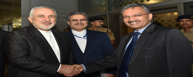 Visit of Minister of Foreign Affairs of the Islamic Republic of Iran to India (May 13-14, 2019)
