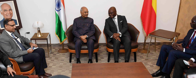 State Visit of the President of India to Benin, The Gambia and Guinea (July 28 -3 August 2019)