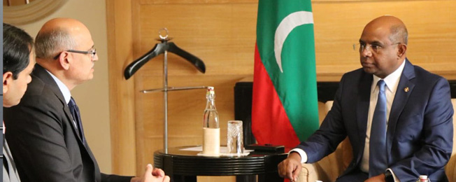 Visit of Minister of Foreign Affairs of the Republic of Maldives to India (December 10 - 14, 2019)