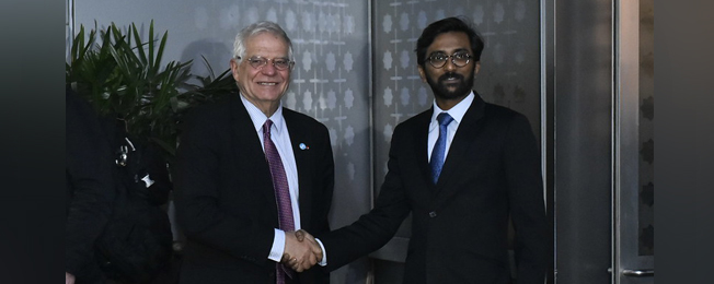 Visit of High Representative for Foreign Affairs and Security Policy and Vice President of the European Commission to India (January 16-18, 2020)