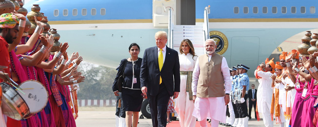 State Visit of the President and the First Lady of the United States of America to India (February 24-25, 2020)